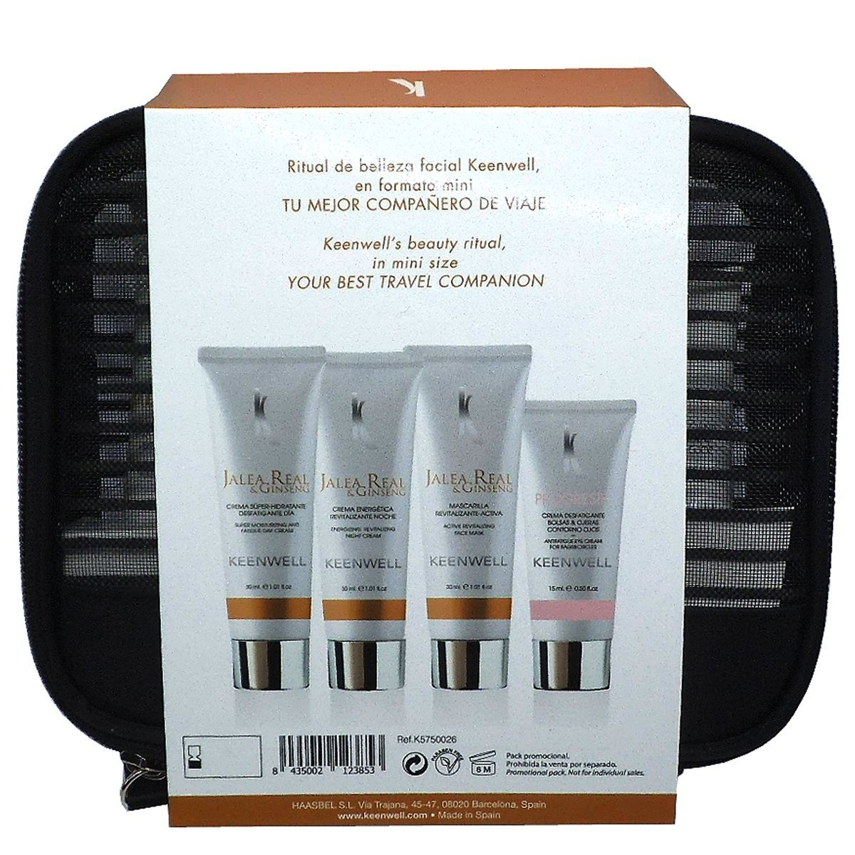 JALEA REAL Set Viaje Facial 4 productos Keenwell 30ml